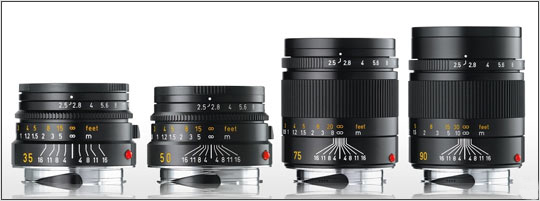 Leica Summarit M lenses