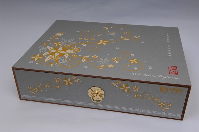 Mooncakes in treasure chest