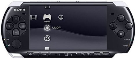 The new Sony PSP 3000