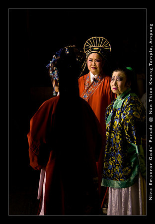 Although the Chinese Operas are staged for the immortals, they do depict the daily life stories of the mortals.