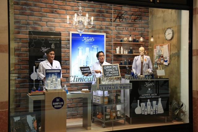"Kiehl's ""LIVE"" Window Marketing. Definition of marketing from The Chartered Institute of Marketing (CIM). Re-evaluating the role of marketing. In the fast-moving world of business, definitions rarely stay the same. Marketing has been described as: ""The management process responsible for identifying, anticipating and satisfying customer requirements profitably."""