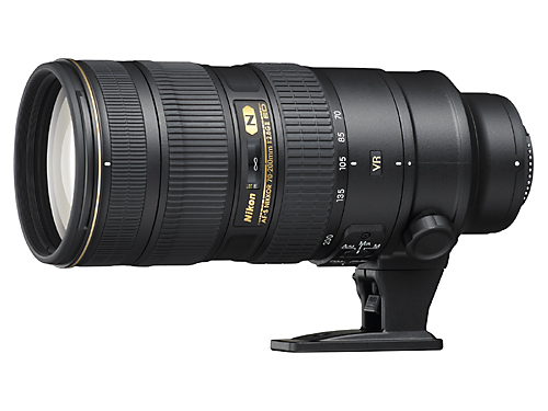 The new AF-S Nikkor 70-200mm f/2.8G ED VR II will be available in November 2009, hopefully. (photo taken from Nikon website)