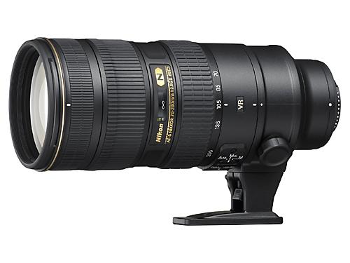 The new AF-S Nikkor 70-200mm f/2.8G ED VR II will be available in November 2009, hopefully. (photo taken from Nikon website)