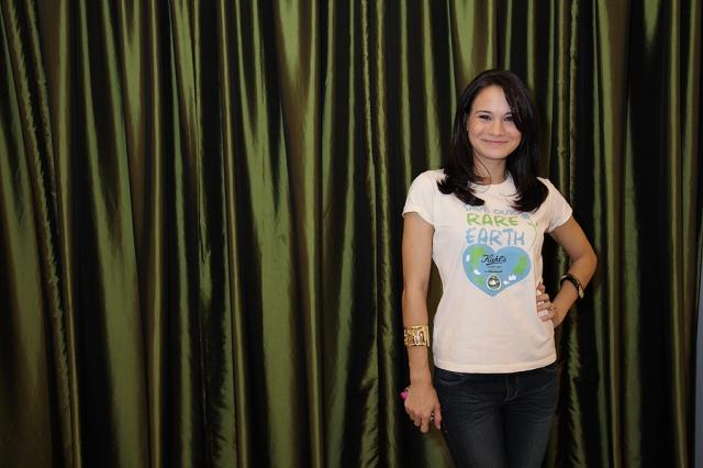 Aishah Sinclair :  Actress & member of YAWA's board of trustees