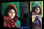 "Steve McCurry's most famous ""Afghan Girl"" photo - A stunning portrait of an unknown Afghan refugee that evokes the emotion that tells a thousand stories without the utterance of a single word!"