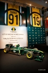 The actual Lotus F1 racing machine was unveiled yesterday at the Pavilion Shopping Complex yesterday.