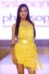 Esther T showcasing a design from Salabianca during the Pavilion Kuala Lumpur Mega Sale Fashion Show.