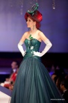 A model showcasing a design by Carven Ong during The GLass Slipper Gala.