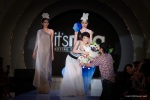The beautiful Lee Sinje taking a bow after the presentation of her City Romance Collection.