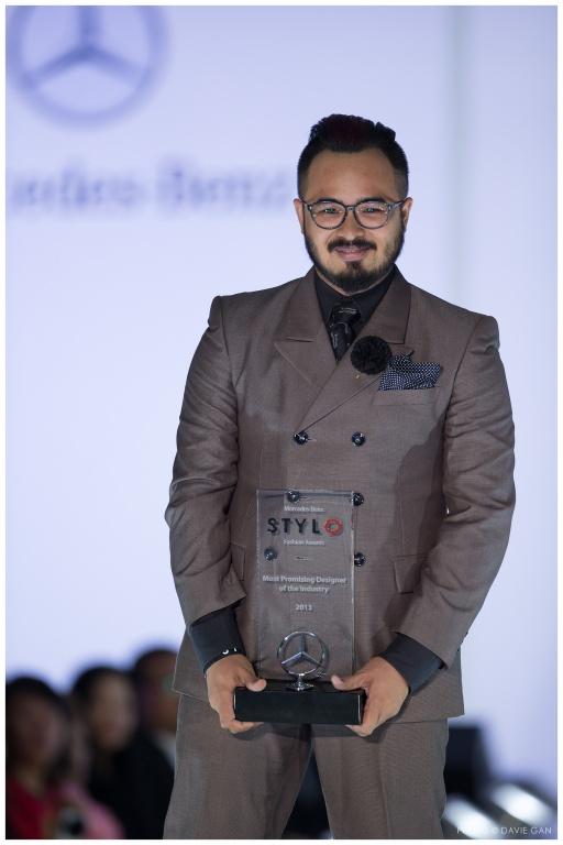 Most Promising Designer of the Industry 2013 - Fairus Ramdan of BDA
