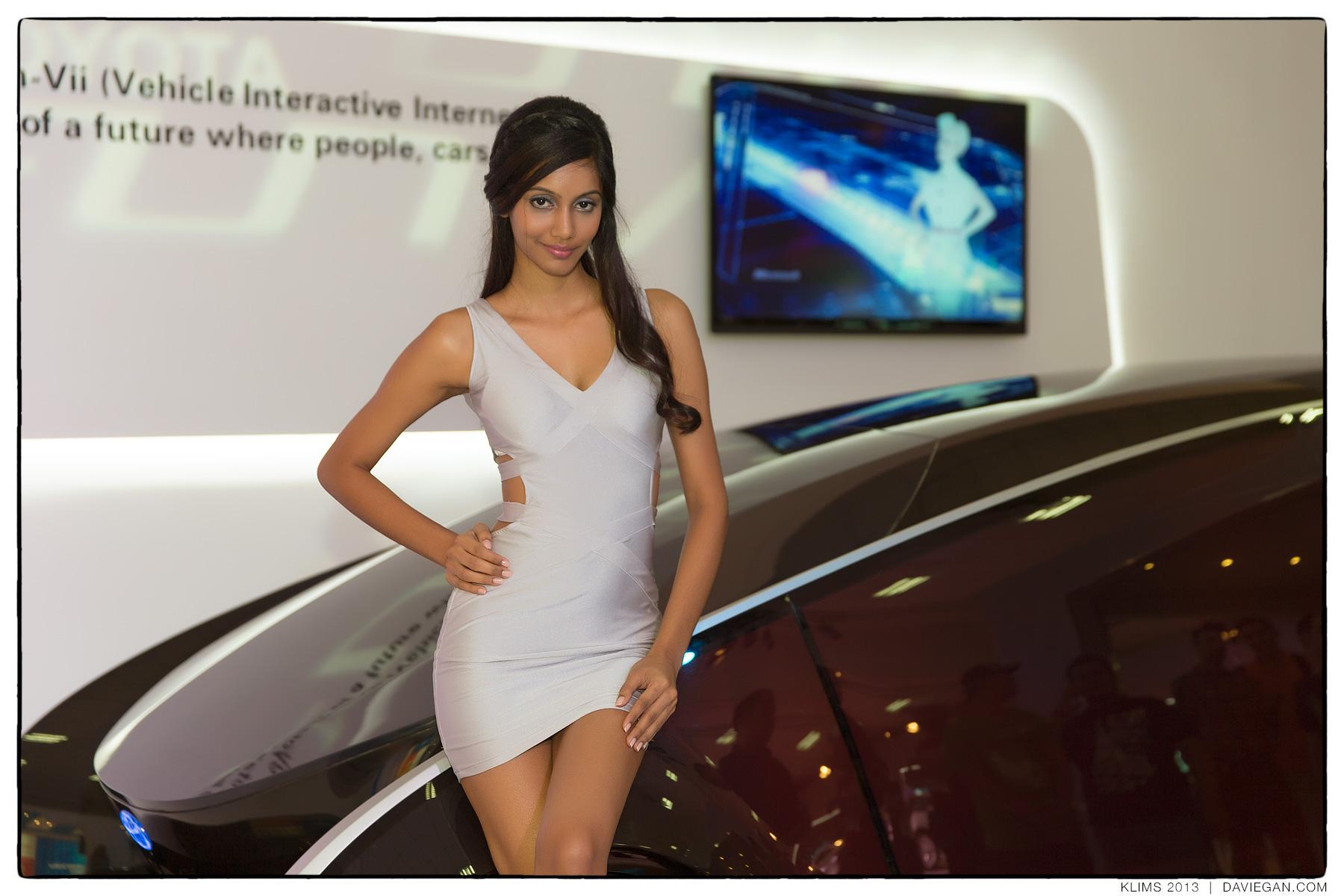 Auto Show Models Kuala Lumpur International Motor Show