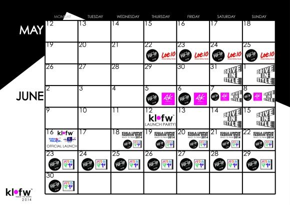 KLFW2014 - Activity Calendar